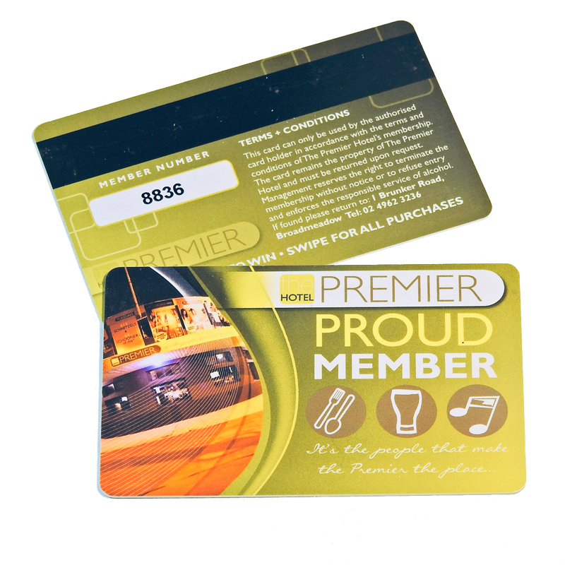 PVC Card Features